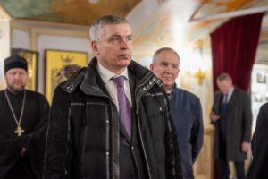 Собор посетил председатель ВФСО «Динамо» Анатолий Гулевский